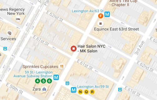 It's very east to take subways to get to MK Hair Salon.